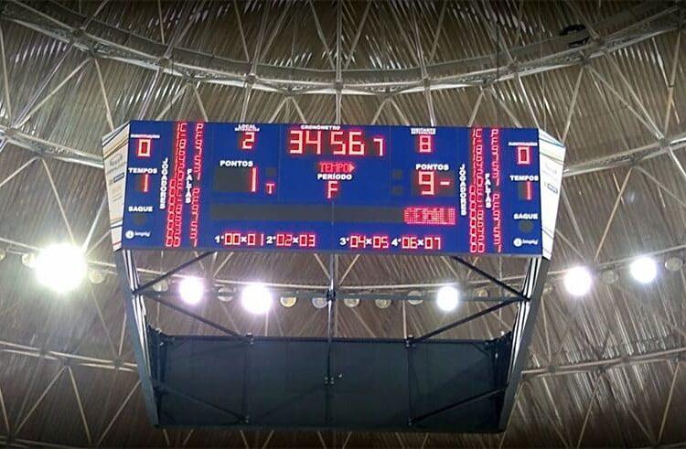 Imply® Multisport Scoreboards Modernize Sports Complex in Recife