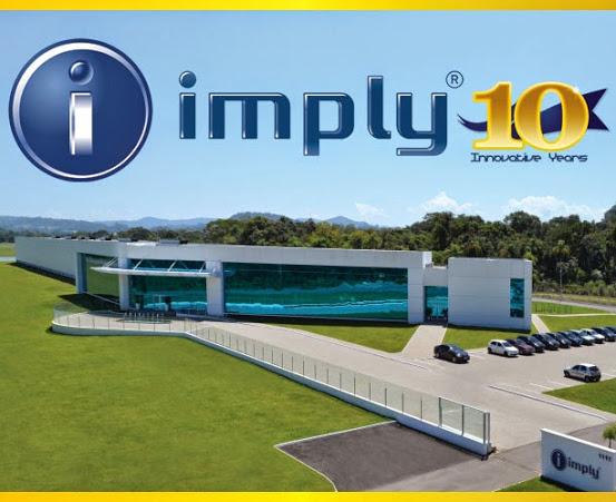 Imply® 10 Anos, Inovando no mundo
