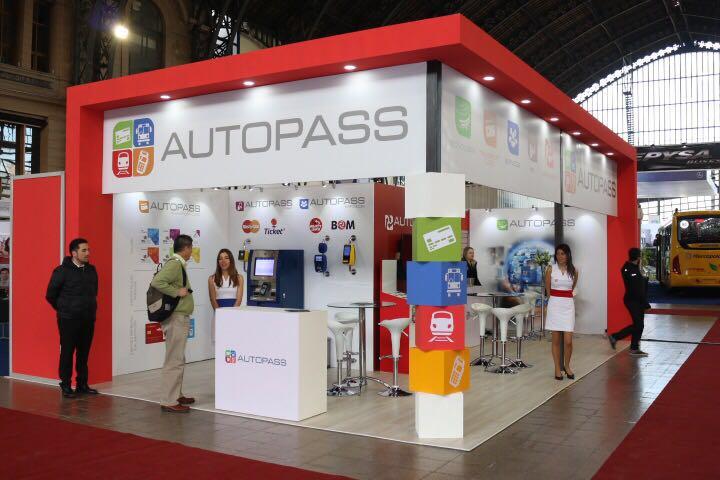 Tecnologias de Autoatendimento Imply na Feira TransUrbano 2016, no Chile