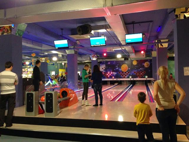 Bowling Café Ozon inaugura na Rússia