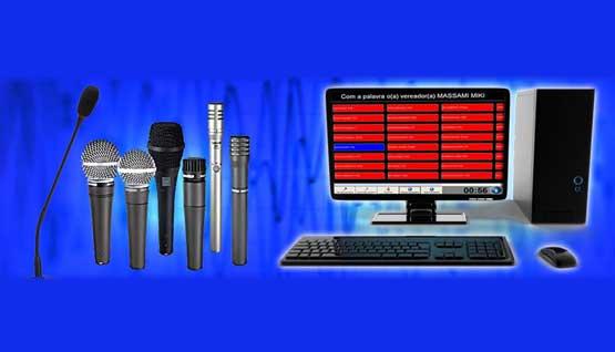 Sistema de Gerenciamento de Microfones