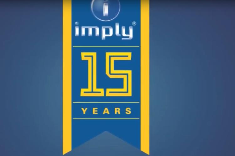 Imply® celebra 15º aniversário