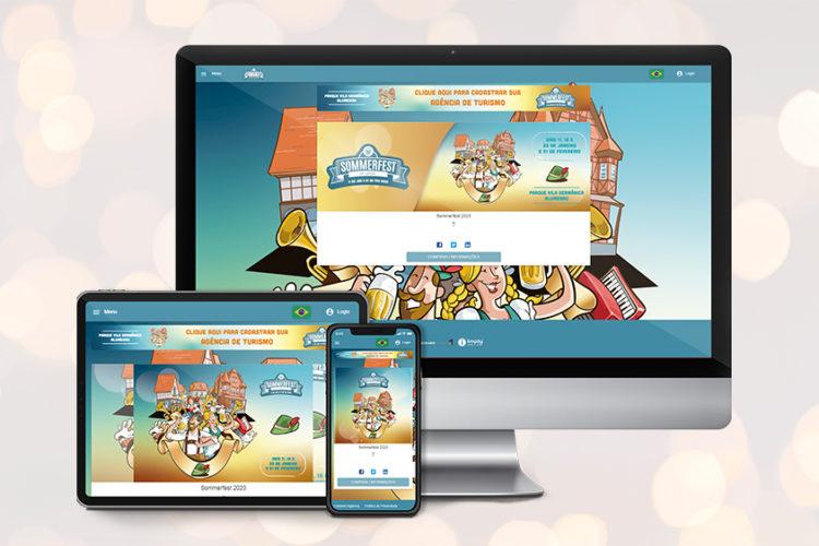 Imply® Group sera responsable de la vente des billets Sommerfest et du contrôle d'accès à Blumenau