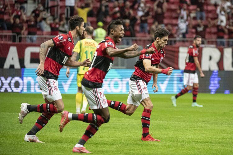Goleada del Flamengo marca la vuelta del público en los Estadios en Brasil con Tecnología Imply®