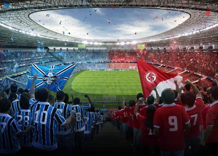 La Technologie d'Accès Imply est responsable de le Contrôle Biométrique des Grêmio et Internacional