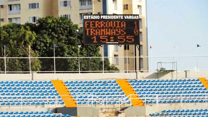 Imply® installs Scoreboards on the Presidente Vargas Stadium