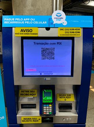 Quioscos de Auto Servicio Imply® ofrecen pagos por PIX en el Metro de Sao Paulo
