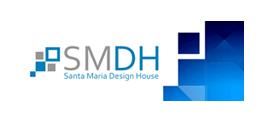 logo santa maria design house smdh